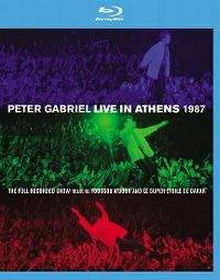 Cover Peter Gabriel - Live In Athens 1987 [DVD]